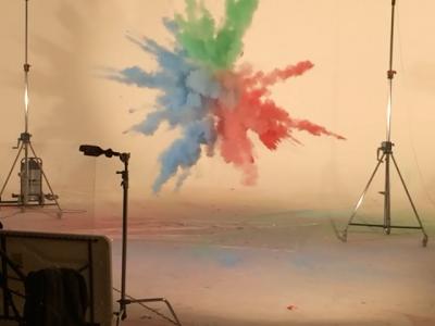 Studio 2: Marcus Mays Harlequins explosions shoot