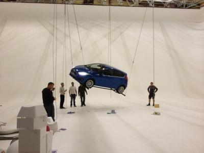 Studio A: 20 20 agency shooting new Ford Fiesta campaign