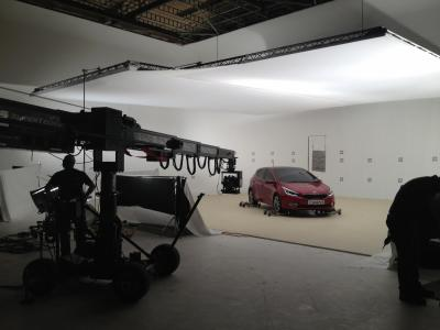Studio A: Joyrider shooting big Kia commercial