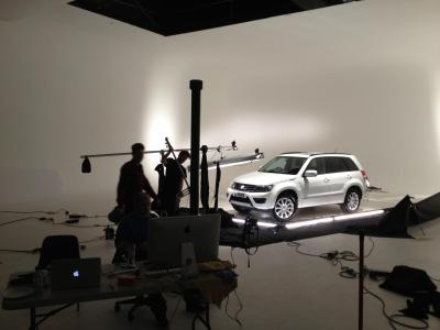 Studio 1: Suzuki shoot with photographer Wilson Hennessy