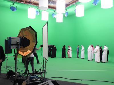 Studio 3: Squint Opera shoot
