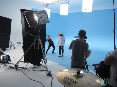 Studio 1: JJ Stereo shooting McFly