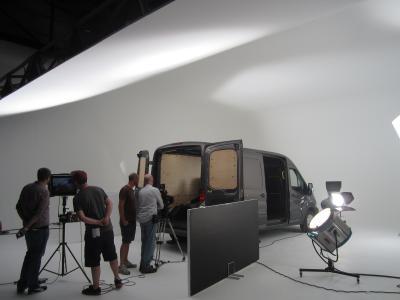 Studio 1: Rockhound shooting Ford Transit app