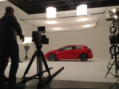 Studio 1: iTV shooting new Astra