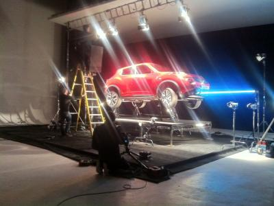 Studio 1: Tim Kent shooting Nissan