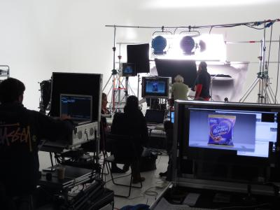 Studio 1: Milka Choco shoot with Partizan