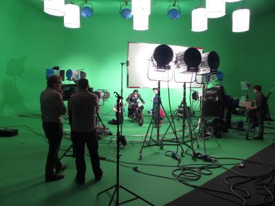 Studio 3: Scripps Network shoot
