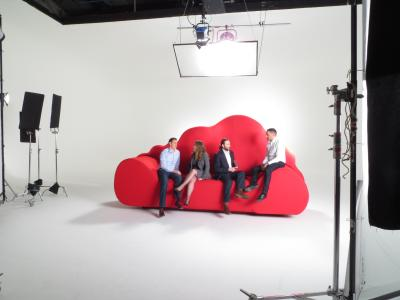 Studio 1: Vodafone shoot with Connected Pictures
